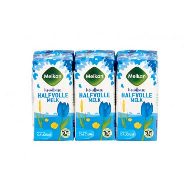 Halfvolle melk Melkan mini 200 ml