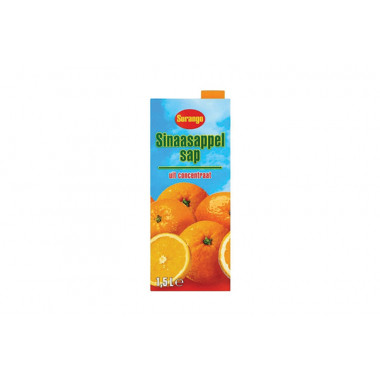 Sinaasappelsap Surango 1,5 ltr
