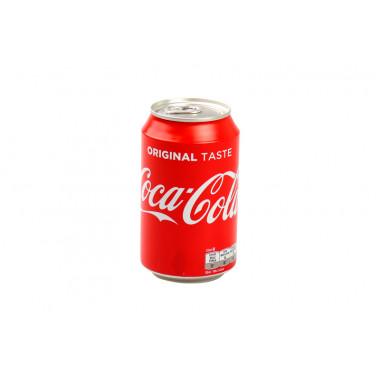 Coca Cola regular blik 33 cl EU