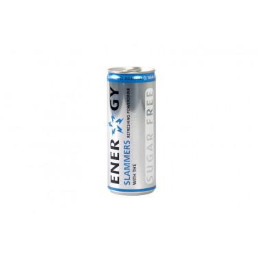Energy drink Slammers light 250 ml