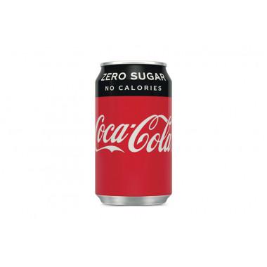 Coca Cola zero blik 33 cl EU