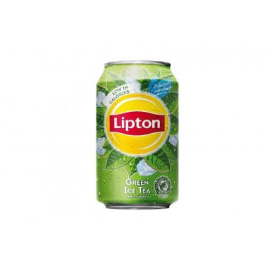 Lipton ice tea green blik 33 cl