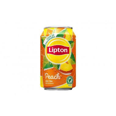 Lipton peach blik 33 cl